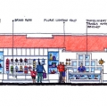Chandlery Wall Elevation